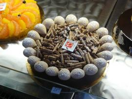 Tarte au chocolat, tarte aux fruits