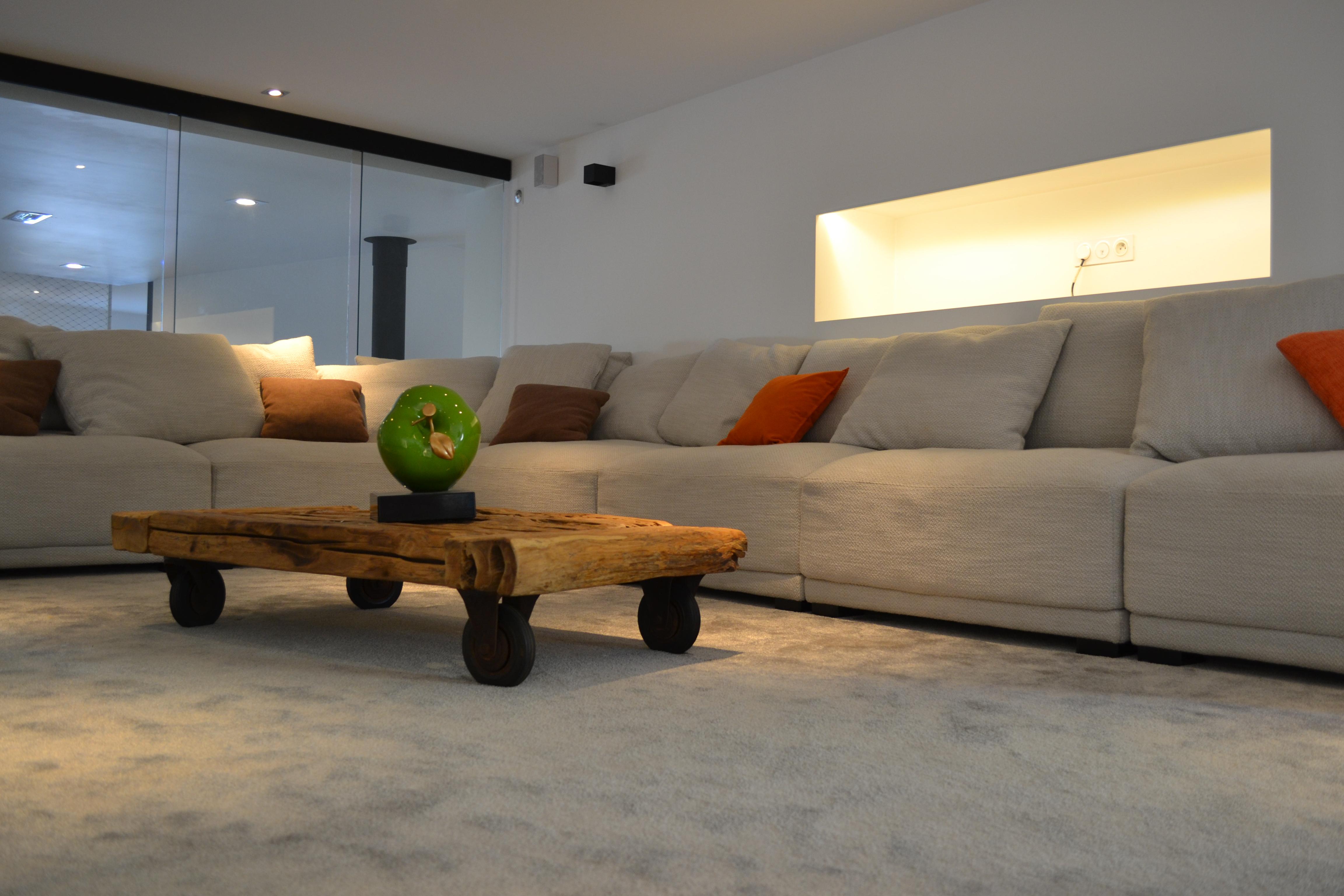 canapé ameublement moderne